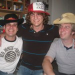 Scott, Adam, Bryce - Sophomore Year With Silly Hats